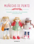 muñecas de punto: 12 pequeños personajes y mas de 50 vestidos y accesorios de moda louise crowther 9788416504947
