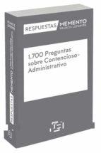 1700 preguntas sobre contencioso-administrativo-juan antoni santamaría pastor-9788416924547