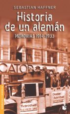 historia de un aleman: memorias 1914-1933-sebastian haffner-9788423338047