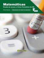 matematicas: prueba de acceso a ciclos formativos para grado supe rior alicia espuig 9788426717047