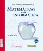 matematicas para informatica-j. jimenez murillo-9788426721747