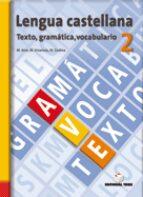 cuaderno ave 2º eso (gramatica vocabulario texto) 9788430749447