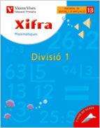 xifra divisió 1: primaria 3º-9788431680947