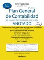 plan general de contabilidad anotado (2ª ed.) sergio m. jimenez cardoso 9788436834147