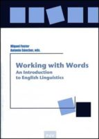 working with words miguel fuster antonia sanchez 9788437071947
