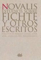 estudios sobre fichte y otros escritos 9788446012047