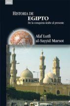 historia de egipto: de la conquista arabe al presente 9788446024347