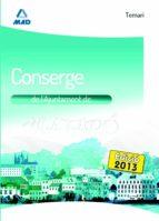 CONSERGE DE L´AJUNTAMENT DE MATARÓ. TEMARI