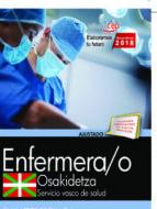 oposiciones osakidetza. servicio vasco de salud enfermero/a 9788468190747