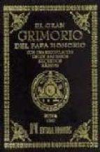 el gran grimorio del papa honorio: con una recopilacion de los ma s raros secretos magicos-9788479101947