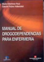 manual para drogodependencias para enfermeria-mario martinez ruiz-gabriel rubio valladolid-9788479785147