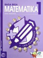 baga biga matematika 1: 1.lan koadernoa-jesus mari goñi-9788483318447