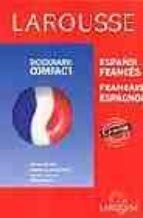 larousse diccionario compact (cd-rom) (español-frances français-e spagnol)-9788483324547