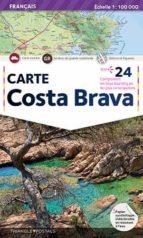 mapa costa brava (frances) 9788484781547