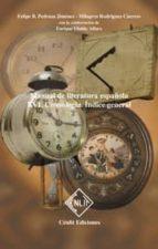cronologia: indice general (manual de literatura española, vol. x vi) felipe b. pedraza jimenez milagros rodriguez caceres 9788485511747