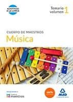 CUERPO DE MAESTROS MUSICA VOL I