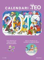 calendari teo 2018-violeta denou-9788491373247
