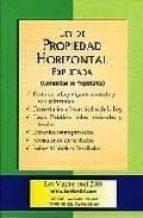 ley de propiedad horizontal explicada (comunidad de propietarios) (3ª ed.) juan maria garay g. miren garay d. 9788493486747