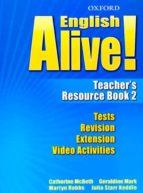 english alive!: teacher s resource book 2 (educacion secundaria)-9780194710657