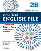 american english file 2e 2b multi pk-9780194776257