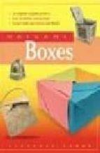 origami boxes florence temko 9780804834957