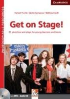 get on stage! teacher s book with dvd and audio cd-9781107637757