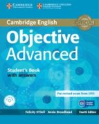 objective advanced student s book with answers with cd rom 4th edition 9781107657557