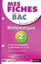 Mes fiches abc bac maths 2de 978-2091869957 por P.desrousseaux MOBI PDF