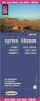siria y libano mapa de carreteras (1:600000) 9783831771257
