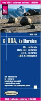 usa6: california 1:850.000 impermeable 9783831772957