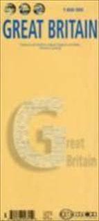 gran bretaña, mapa de carreteras (escala: 1:800.000)-9783866093157