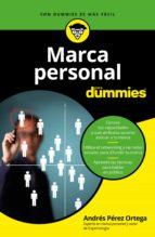 marca personal para dummies-andres perez ortega-9788432903557