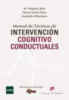 manual de tecnicas de intervencion cognitivo conductuales 9788433025357