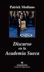discurso en la academia sueca patrick modiano 9788433963857