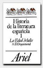 historia de la literatura española i. la edad media-a. d. deyermond-9788434483057