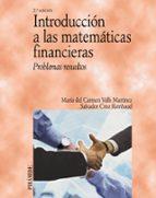 introduccion a las matematicas financieras: problemas resueltos maria del valls martinez 9788436822557