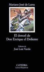 el doncel de don enrique el doliente mariano jose de larra 9788437601557