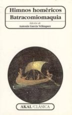 himnos homericos; batracomiomaquia-9788446010357