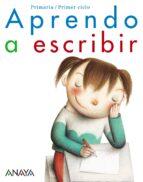 aprendo a escribir. educación primaria - primer ciclo-9788466797757