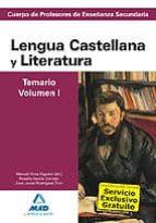cuerpo de profesores de enseñanza secundaria. lengua castellana y literatura. temario. volumen i-9788467628357