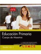 cuerpo de maestros. educación  primaria. temario. vol. ii-9788468167657