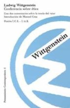 conferencia sobre etica-ludwig wittgenstein-9788475095257