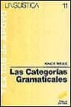 las categorias gramaticales ignacio bosque 9788477380757
