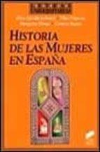 historia de las mujeres en españa elisa garrido 9788477385257