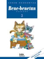 bene-benetan 3 euskara lehen hezkuntza-9788481470857