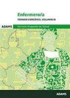 ENFERMERO/A SERVICIO ARAGONES DE SALUD: TEMARIO ESPECIFICO (VOL. III)