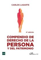 compendio de derecho de la persona y del patrimonio 4º ed.-c. lasarte-9788490850657