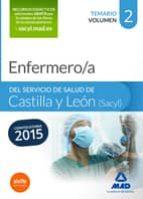 ENFERMERO/A DEL SERVICIO DE SALUD DE CASTILLA Y LEÓN (SACYL). TEMARIO VOLUMEN II