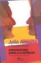 conversaciones sobre la iii republica-julio anguita-carmen reina-9788492904457