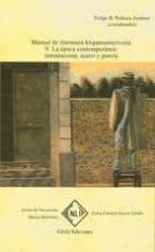 manual de literatura hispanoamericana. tomo v.: la epoca contempo ranea introduccion, teatro y poesia 9788496634657
